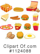Royalty-Free (RF) Food Clipart Illustration #1124088