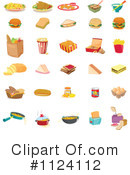 Royalty-Free (RF) Food Clipart Illustration #1124112
