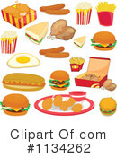 Royalty-Free (RF) Food Clipart Illustration #1134262