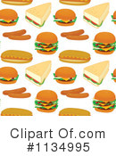 Royalty-Free (RF) Food Clipart Illustration #1134995