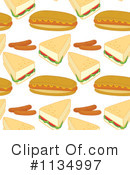 Royalty-Free (RF) Food Clipart Illustration #1134997