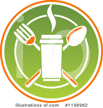 Restaurant Clipart #1198962 by Vector Tradition SM