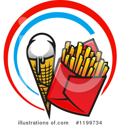 Ice Cream Clipart #1199734 by Vector Tradition SM