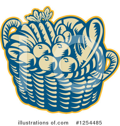 Harvest Clipart #1254485 by patrimonio