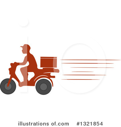 Motorcycle Clipart #1321854 by BNP Design Studio