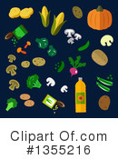 Royalty-Free (RF) Food Clipart Illustration #1355216