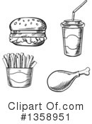 Food Clipart #1358951 by Vector Tradition SM