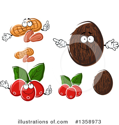 Coffee Berry Clipart #1358973 by Vector Tradition SM