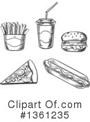 Food Clipart #1361235 by Vector Tradition SM