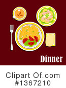 Food Clipart #1367210 by Vector Tradition SM