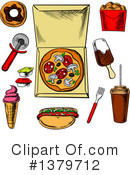 Food Clipart #1379712 by Vector Tradition SM