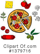 Food Clipart #1379716 by Vector Tradition SM
