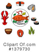 Food Clipart #1379730 by Vector Tradition SM