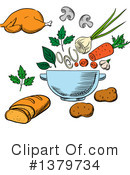 Food Clipart #1379734 by Vector Tradition SM
