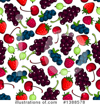 Cherry Clipart #1388578 by Vector Tradition SM