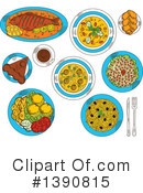 Food Clipart #1390815 by Vector Tradition SM