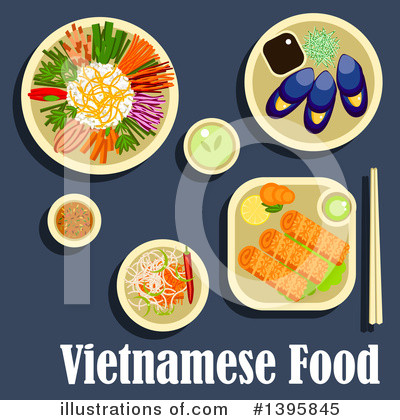Royalty-Free (RF) Food Clipart Illustration by Vector Tradition SM - Stock Sample #1395845