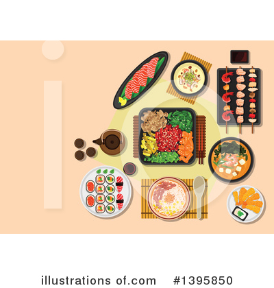 Royalty-Free (RF) Food Clipart Illustration by Vector Tradition SM - Stock Sample #1395850