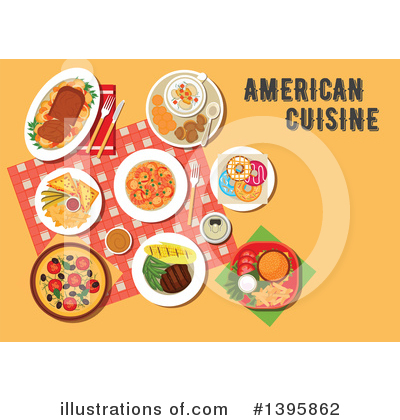 Royalty-Free (RF) Food Clipart Illustration by Vector Tradition SM - Stock Sample #1395862