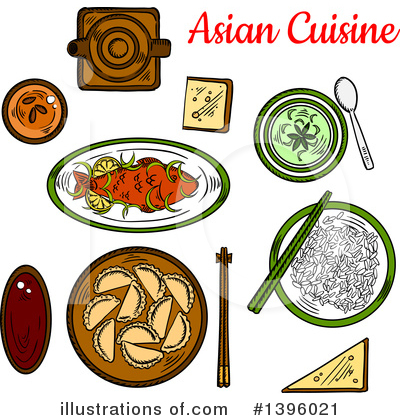 Royalty-Free (RF) Food Clipart Illustration by Vector Tradition SM - Stock Sample #1396021
