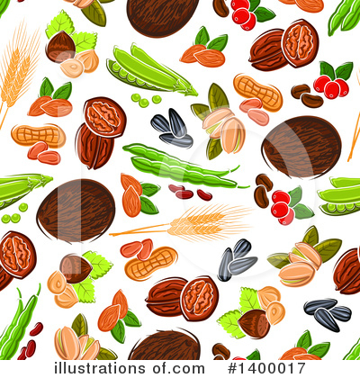 Coffee Berry Clipart #1400017 by Vector Tradition SM