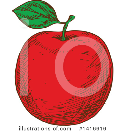 Apple Clipart #1416616 by Vector Tradition SM