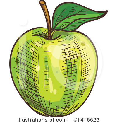 Apple Clipart #1416623 by Vector Tradition SM