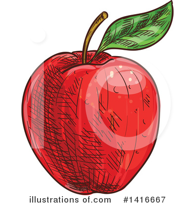 Apple Clipart #1416667 by Vector Tradition SM