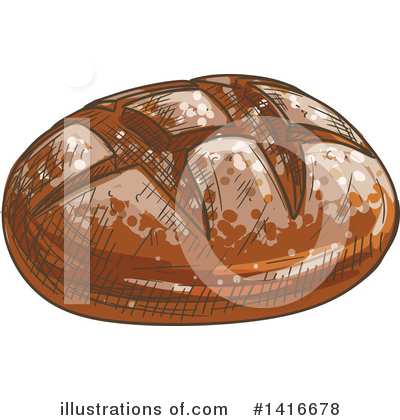 Bread Clipart #1416678 by Vector Tradition SM