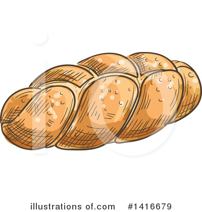 Bread Clipart #1416679 by Vector Tradition SM