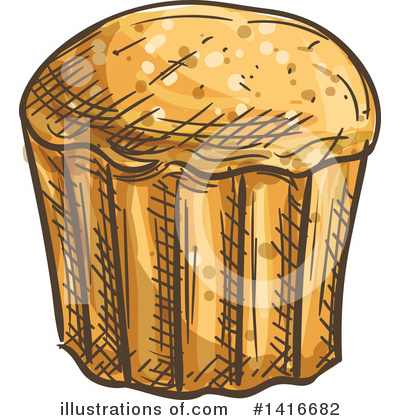 Bread Clipart #1416682 by Vector Tradition SM