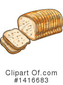 Royalty-Free (RF) Food Clipart Illustration #1416683