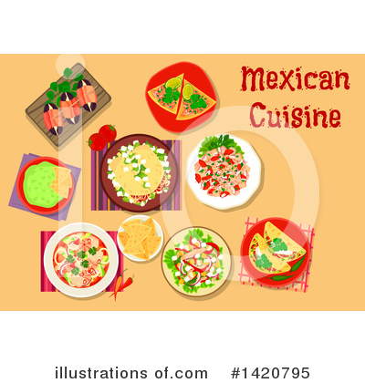 Nacho Clipart #1420795 by Vector Tradition SM