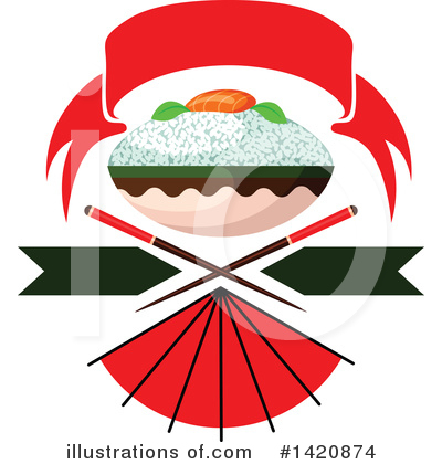 Japanese Food Clipart #1420874 by Vector Tradition SM