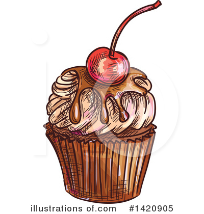 Cherry Clipart #1420905 by Vector Tradition SM