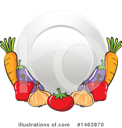 Plate Clipart #1463870 by Graphics RF