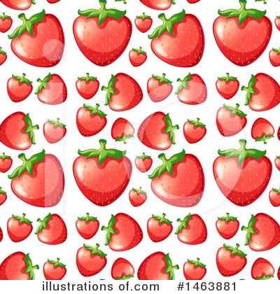 Strawberry Clipart #1463881 by Graphics RF