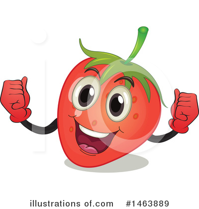 Strawberry Clipart #1463889 by Graphics RF