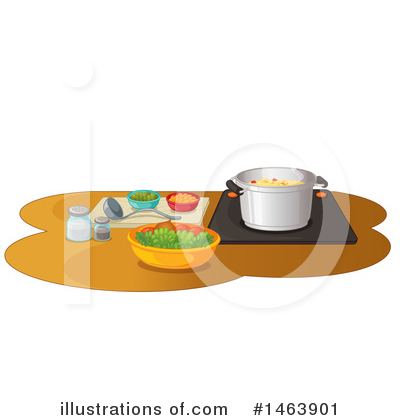 Cooking Clipart #1463901 by Graphics RF