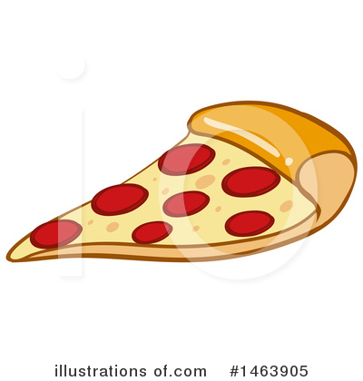 Pizza Clipart #1463905 by Graphics RF
