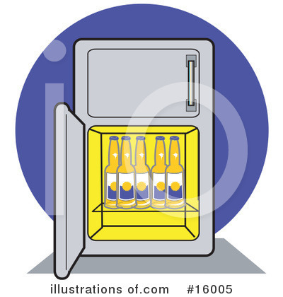 Refrigerator Clipart #16005 by Andy Nortnik