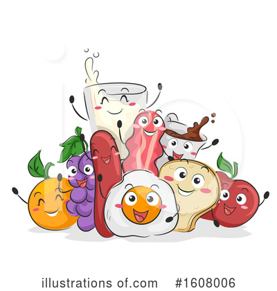 Food Clipart #1608006 by BNP Design Studio