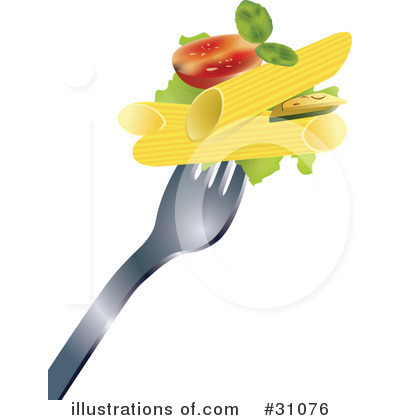 Royalty-Free (RF) Food Clipart Illustration by Eugene - Stock Sample #31076