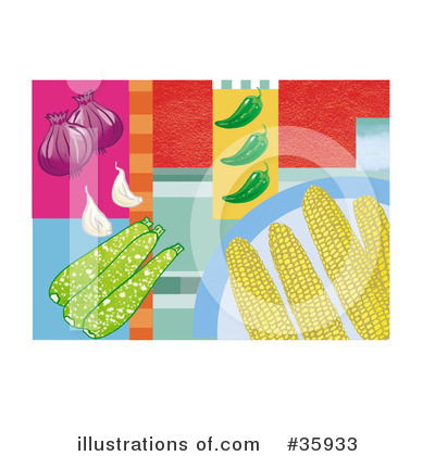 Zucchini Clipart #35933 by Lisa Arts