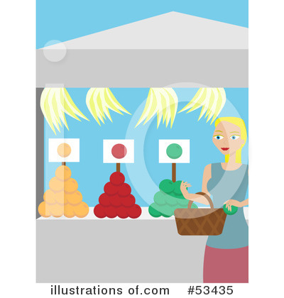 Royalty-Free (RF) Food Clipart Illustration by mheld - Stock Sample #53435