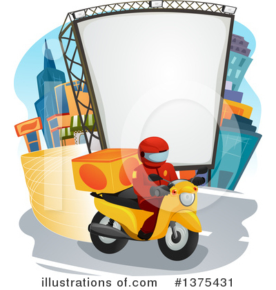 Food Delivery Clipart #1375431 by BNP Design Studio