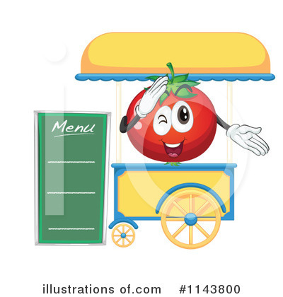 Tomato Clipart #1143800 by Graphics RF