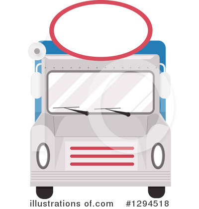 Food Truck Clipart #1294518 by BNP Design Studio