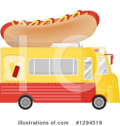 Food Truck Clipart #1294519 by BNP Design Studio