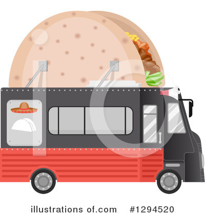 Food Truck Clipart #1294520 by BNP Design Studio